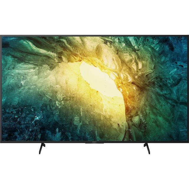 Sony KD55X7055 Bravia LED-Fernseher (139 cm / (55 Zoll), 4K Ultra HD, Smart-TV