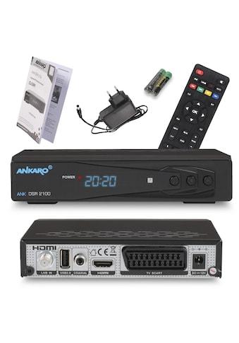 Ankaro »ANK DSR 2100 Full HD« SAT - Receiver kaufen