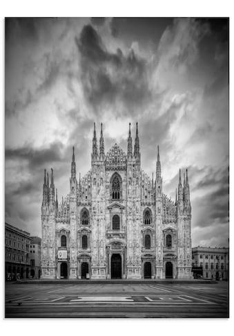 Artland Glasbild »Dom Kathedrale Santa Maria Nascente«, Gebäude, (1 St.) kaufen