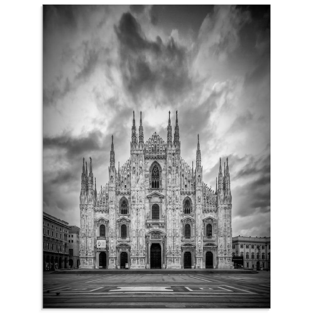 Artland Glasbild »Dom Kathedrale Santa Maria Nascente«, Gebäude, (1 St.)