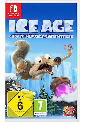 BANDAI NAMCO Spiel »Ice Age - Scrats nussiges Abenteuer«, Nintendo Switch kaufen