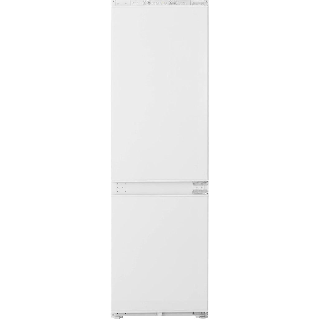 Hanseatic Einbaukühlgefrierkombination, 177,2 cm hoch, 54 cm breit