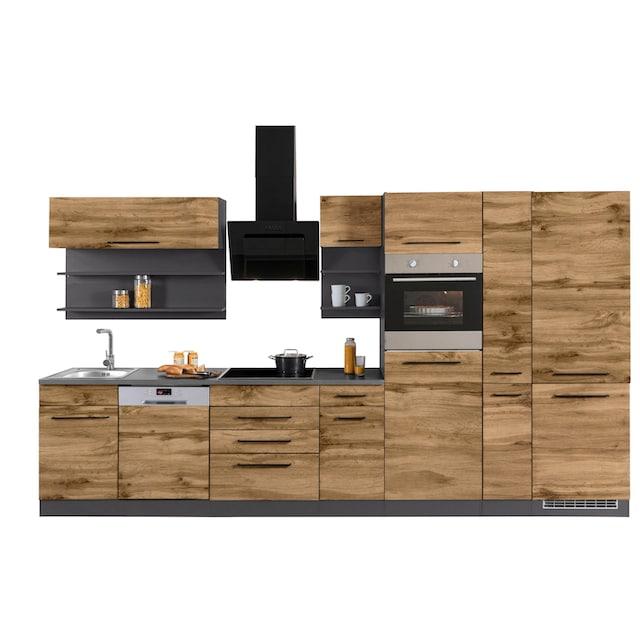 HELD MÖBEL Küchenzeile »Tulsa«, ohne E-Geräte, Breite 360 cm