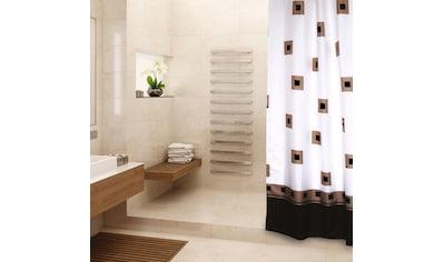MSV Duschvorhang »Quadriert«, Breite 180 cm, Höhe 200 cm kaufen