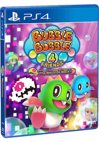PlayStation 4 Spiel »Bubble Bobble 4 Friends: The Baron is Back!«, PlayStation 4 kaufen