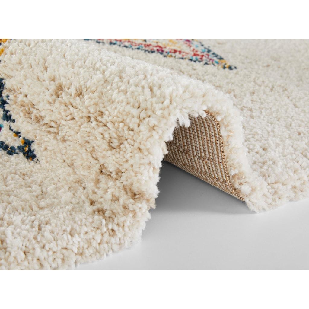 MINT RUGS Hochflor-Teppich »ANDARA«, rechteckig, 30 mm Höhe, besonders weich durch Microfaser