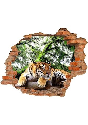 Conni Oberkircher´s Wandsticker »Tiger« kaufen