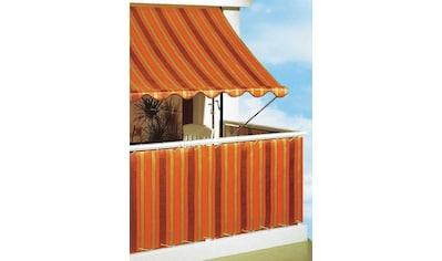 Angerer Freizeitmöbel Klemmmarkise, orange-braun, Ausfall: 150 cm, versch. Breiten kaufen