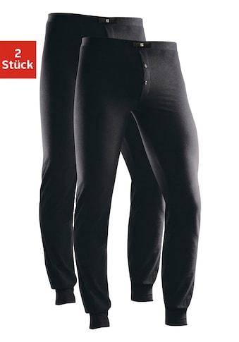 H.I.S Lange Unterhose, (2 St.), mit Bündchen am Bein kaufen