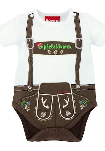 BONDI Trachtenbody Baby im Lederhosen - Look kaufen