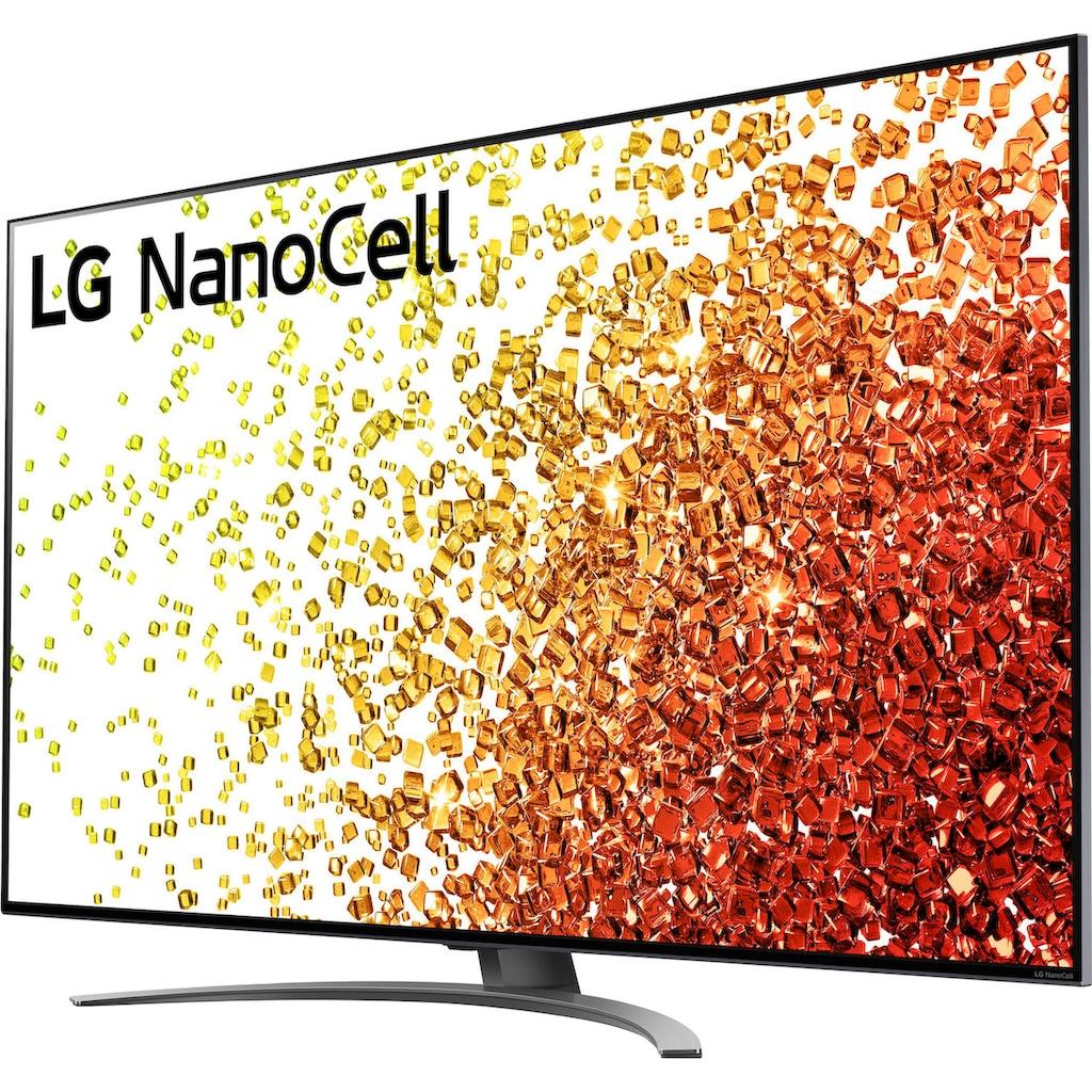 "LG LCD-LED Fernseher »65NANO919PA«, 164 cm/65 "", 4K Ultra HD, Smart-TV, (bis zu 120Hz)-Full Array Dimming-α7 Gen4 4K AI-Prozessor-Sprachassistenten-HDMI 2.1"
