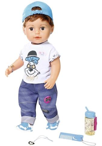 Baby Born Babypuppe »Soft Touch Brother, 43 cm«, interaktiv kaufen