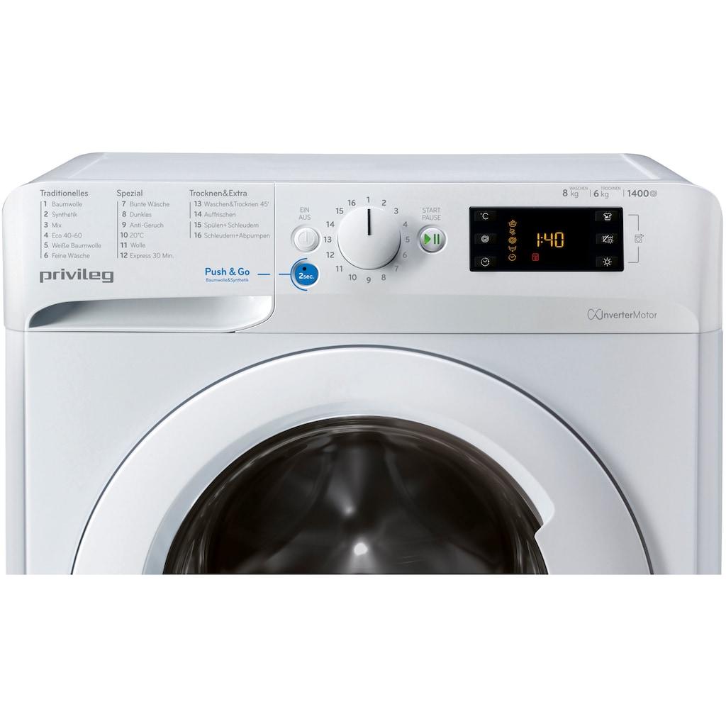 Privileg Waschtrockner »PWWT X 86G4 DE N«