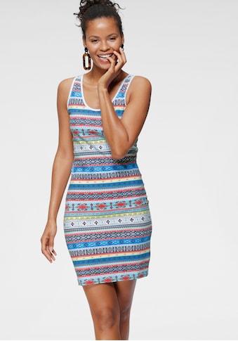 KangaROOS Jerseykleid, im trendigen ethno Print kaufen