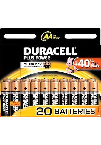 Duracell »Plus Power« Batterie (1,5 V) kaufen