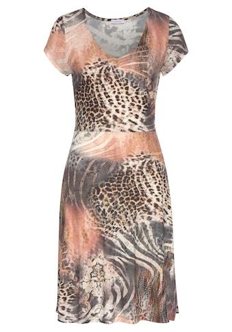 Beachtime Jerseykleid, mit Animalprint kaufen