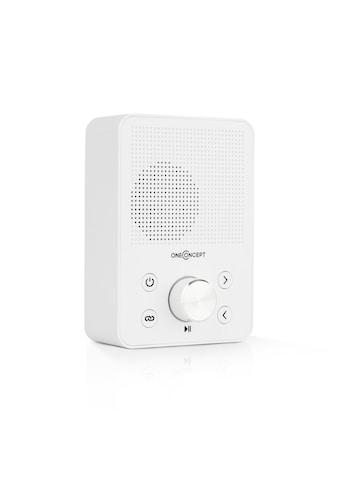 ONECONCEPT Plug+Play FM Steckdosen-Radio, UKW-Tuner, USB, BT kaufen