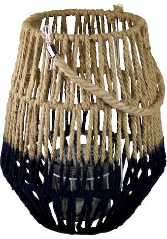AM Design Laterne, aus Sisal, mit Kordel kaufen