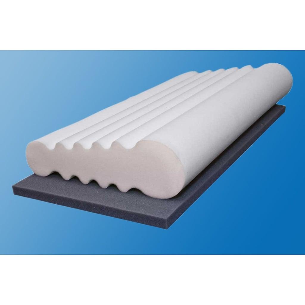 Beco Nackenstützkissen »Vario«, Füllung: Komfortschaum, Bezug: Polyester, (1 St.), Zwei unterschiedliche Höhen und Härten