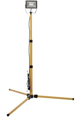 KOPP Flutlichtstrahler 20 Watt LED Baustrahler mit Teleskop Stativ. kaufen