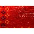 morgenland Wollteppich »LORIBAFT CROCO«, rechteckig, 18 mm Höhe, reine Wolle, Luxus, fein Handgeknüpft, Wohnzimmer