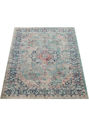 Teppich, »Mabella 491«, Paco Home, rechteckig, Höhe 5 mm, maschinell gewebt kaufen