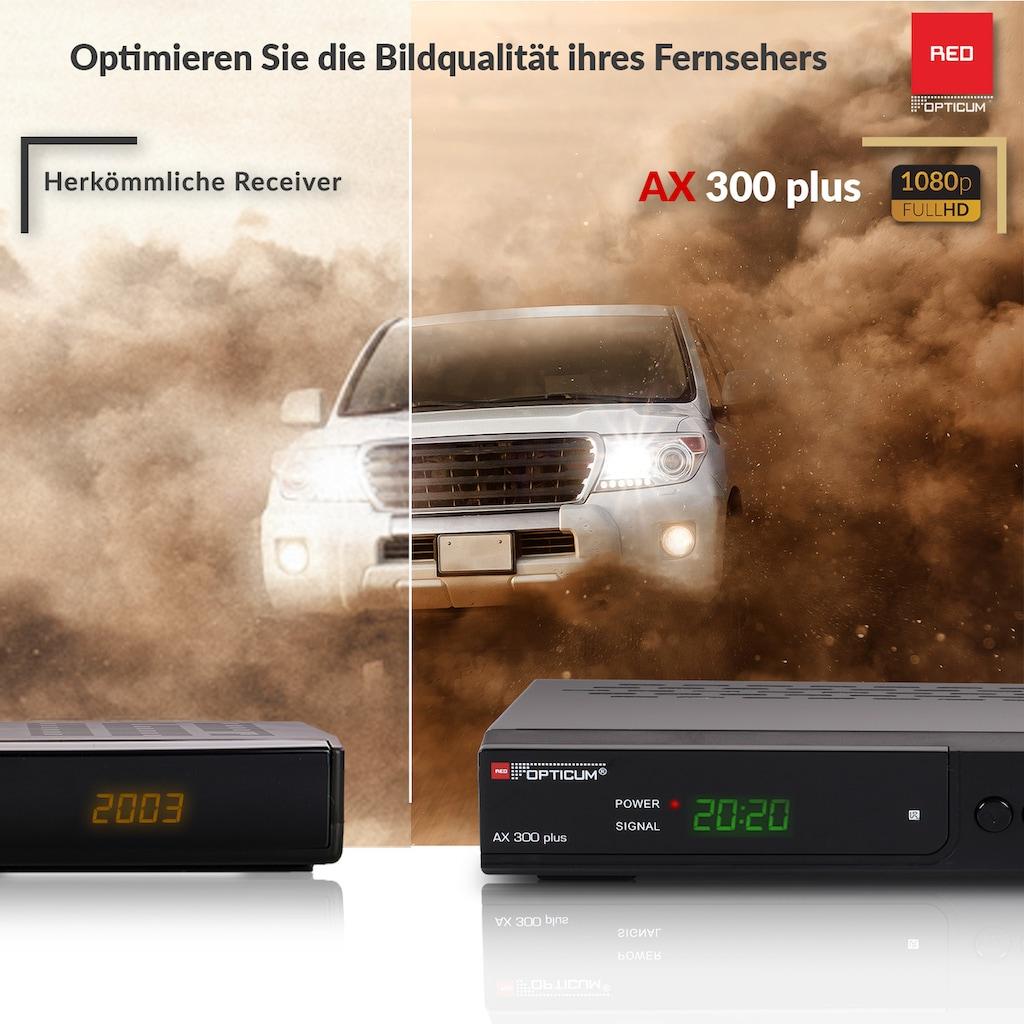 Opticum Red SAT-Receiver »AX 300 Plus Full HD«, EasyFind Ready