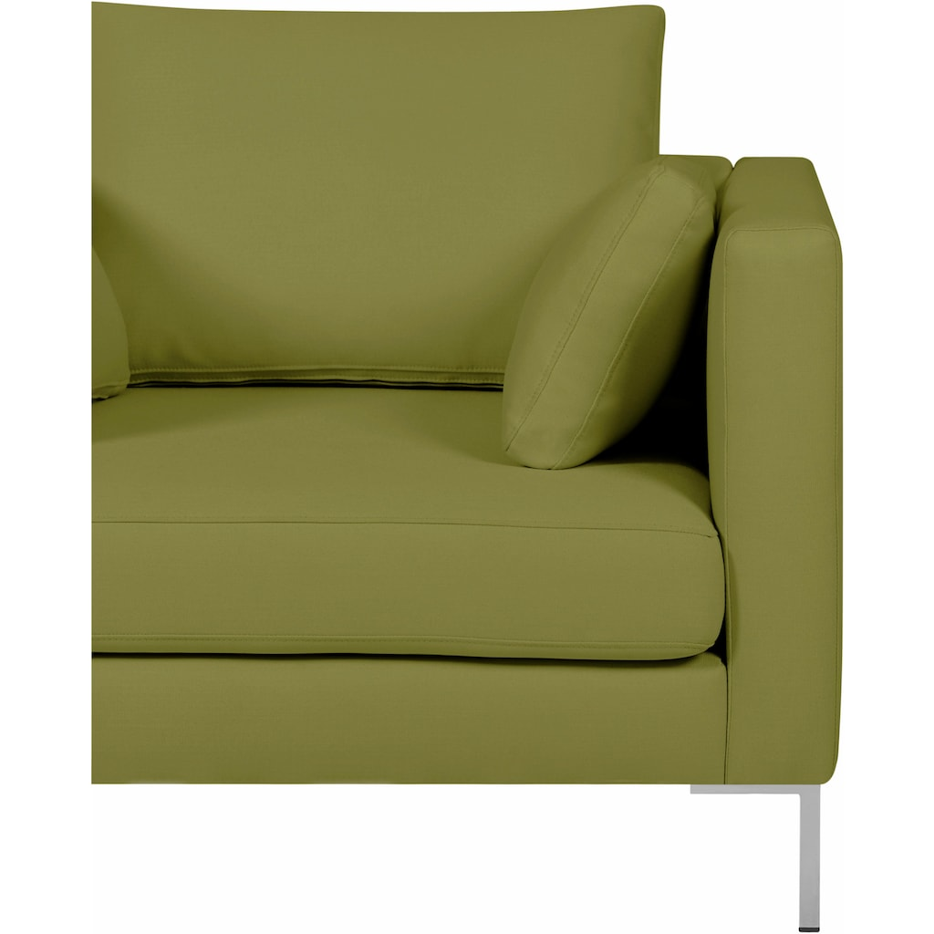 Alte Gerberei Sessel »Marinus«, mit schmalen Lehnen, inklusive Rückenkissen