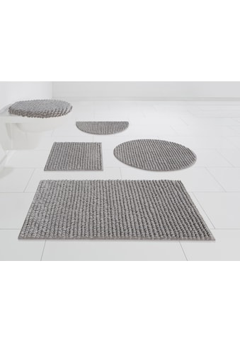 andas Badematte »Renat«, Höhe 15 mm, Badteppich, Badgarnitur in Pastell, waschbar,... kaufen