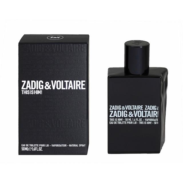 """ZADIG & VOLTAIRE Eau de Toilette """"This is Him!"""""""