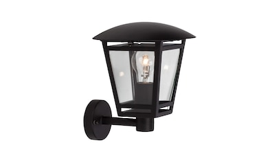 Brilliant Leuchten Außen-Wandleuchte »Riley«, E27, 1 St., Außenwandlampe stehend schwarz kaufen