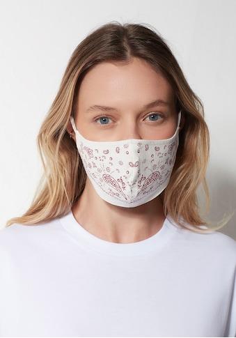 Mavi Mund-Nasen-Maske »Maske red bandana«, mit stylischen Mustern kaufen