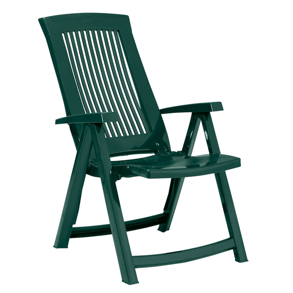 Best Gartenstuhl »Kansas«, Kunststoff, verstellbar, grün