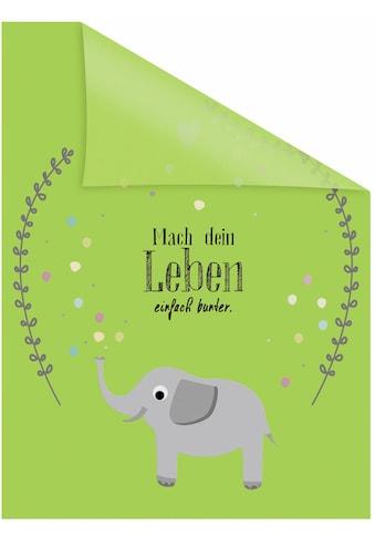 LICHTBLICK ORIGINAL Fensterfolie »Elefant«, 1 St., blickdicht,... kaufen