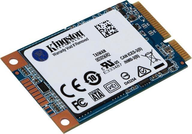 Kingston »UV500 mSATA« SSD-Festplatte (mSATA, 520 MB/s Lesegeschwindigkeit)