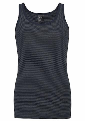 Schiesser Unterhemd, Feinripp mit dezenten Streifen kaufen