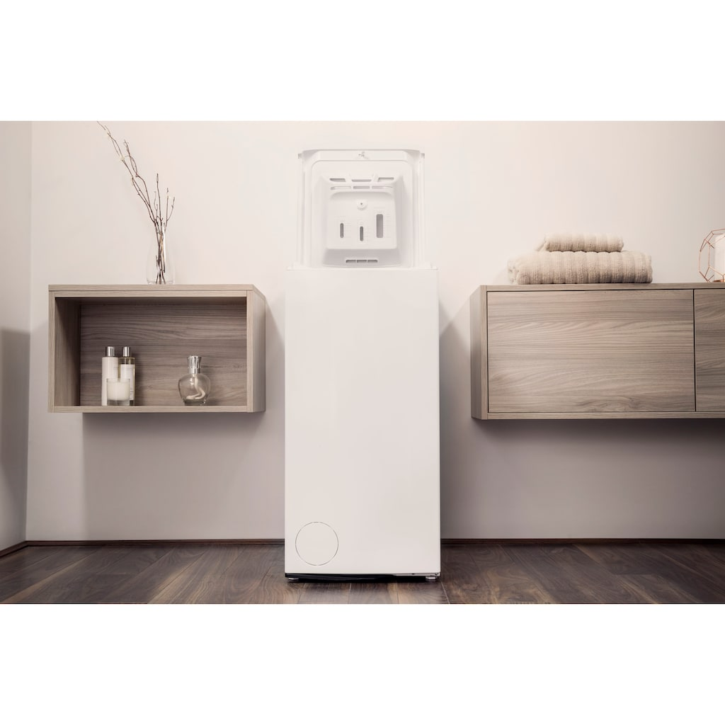 BAUKNECHT Waschmaschine Toplader »WMT ZEN 6 BD N«, WMT ZEN 6 BD N, 6 kg, 1200 U/min