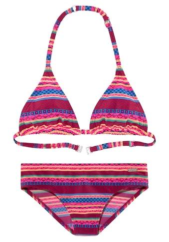 Buffalo Triangel-Bikini, mit Ethno-Druck kaufen