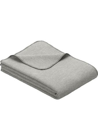 IBENA Wolldecke »Jacquard Decke Auckland«, GOTS zertifiziert kaufen