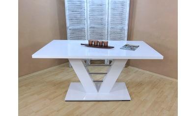 Säulen-Esstisch »Bahrain«, Breite 160 cm kaufen