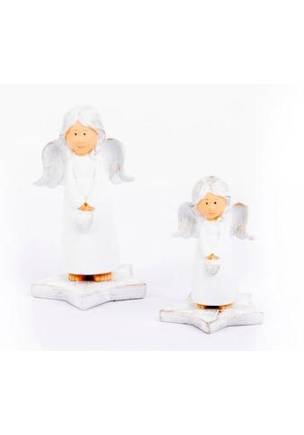 VALENTINO Wohnideen Engelfigur »Engel Emma« (Set, 2 Stück) kaufen
