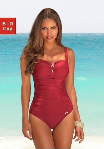 LASCANA Badeanzug, mit Pailletten-Verzierung und Shaping-Effekt kaufen
