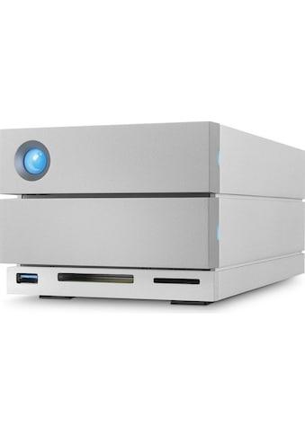 """LaCie 2big Dock Thunderbolt 3, 28 TB »3.5"""", Thunderbolt 3, USB - C + Card Reader« kaufen"""