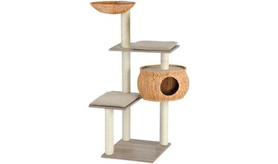 SILVIO DESIGN Kratzbaum »Cosy Tim«, B/T/H: 95/77/139 cm, sanremodekor/sandfarben kaufen