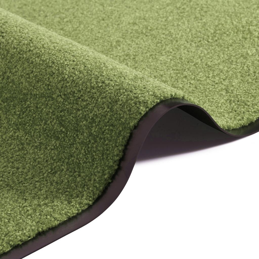 my home Fußmatte »Clean & Walk«, rechteckig, 7 mm Höhe, Fußabstreifer, Fußabtreter, Schmutzfangläufer, Schmutzfangmatte, Schmutzfangteppich, Schmutzmatte, Türmatte, Türvorleger, In- und Outdoor geeignet, waschbar