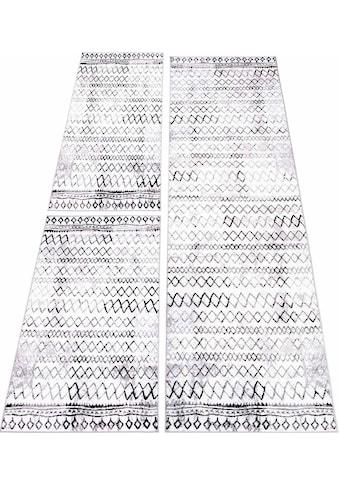 Bettumrandung »Timeless 7547« Carpet City, Höhe 6 mm (3 - tlg.) kaufen