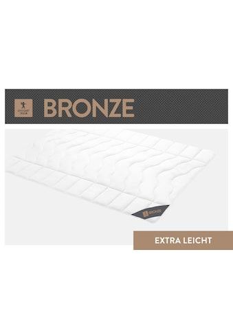 SPESSARTTRAUM Baumwollbettdecke »Bronze«, extraleicht, (1 St.), hergestellt in... kaufen