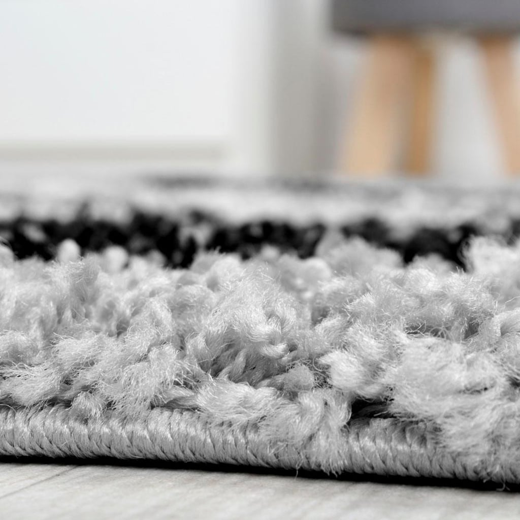 Hochflor-Teppich, »Mango 301«, Paco Home, rechteckig, Höhe 35 mm, maschinell gewebt