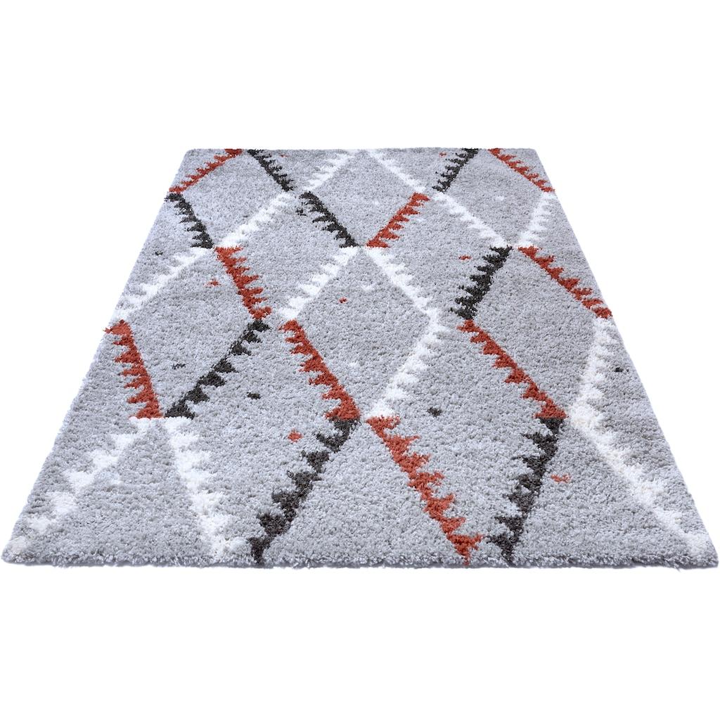 MINT RUGS Hochflor-Teppich »Lark«, rechteckig, 33 mm Höhe, besonders weich durch Microfaser