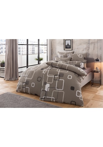 my home Bettwäsche »Quadro«, mit modernen Vierecken kaufen